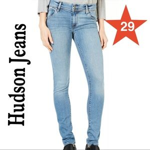 HUDSON JEANS in size 29 light blue NWT